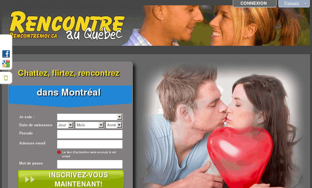 Sites rencontres quebec
