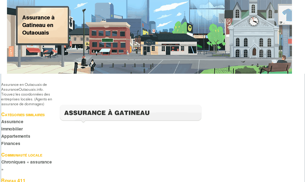 Assurance en Outaouais