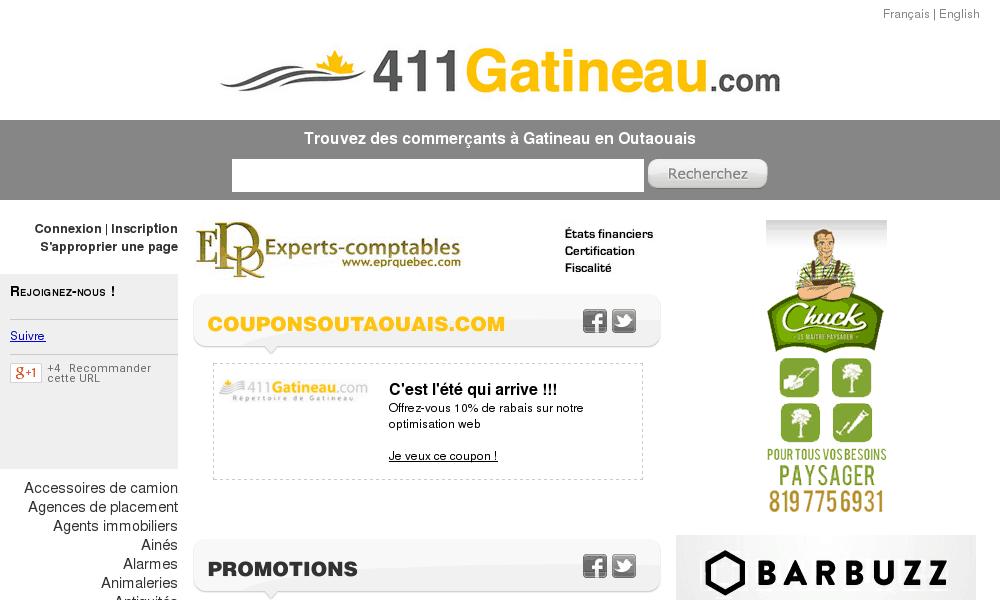 Répertoire des commerçants de Gatineau