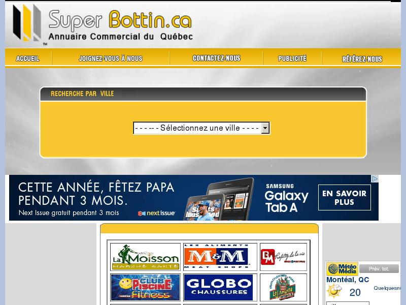 Superbottin-Annuaire commercial du Quebec