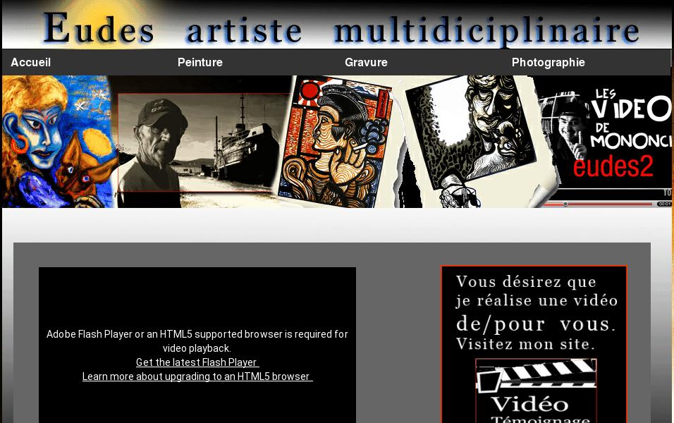 Eudes artiste de Montréal