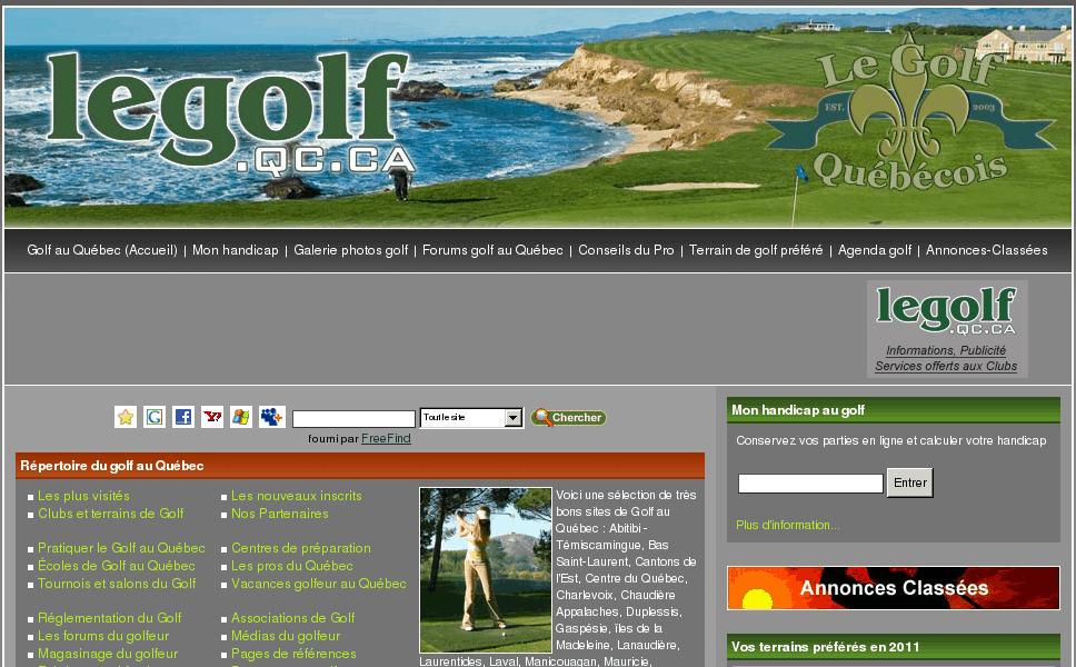 Golf au Québec