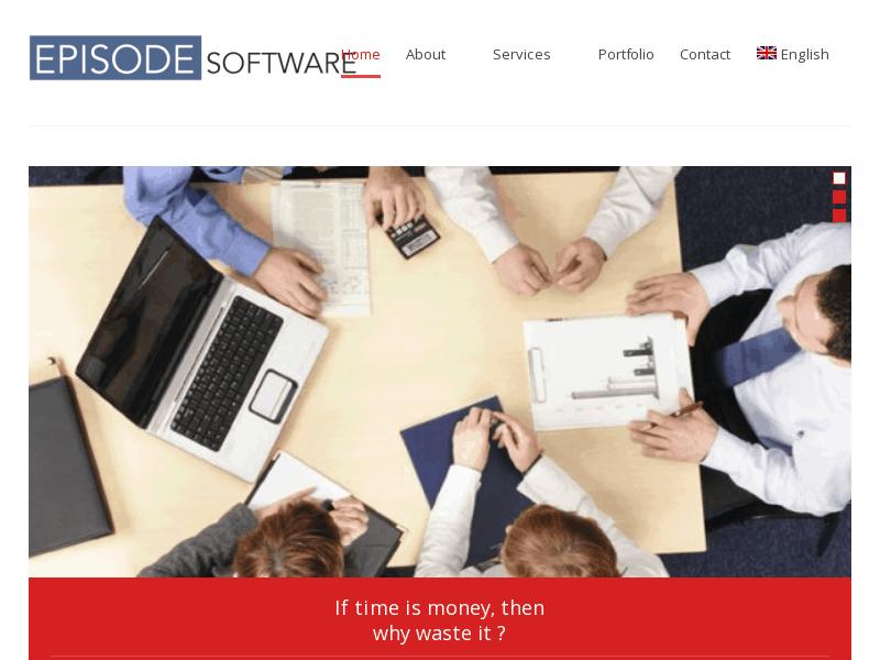 Logiciel EPISODE – Dévelopement de logiciel