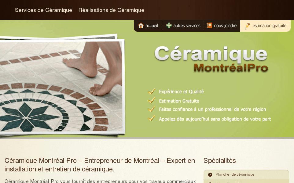 Céramique Montréal