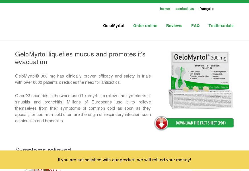 Mucus - Gélomyrtol