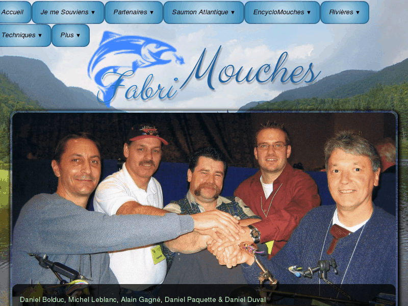 Les Meilleurs Monteurs de Mouches et les Pêcheurs de Saumon Aguerris du Québec