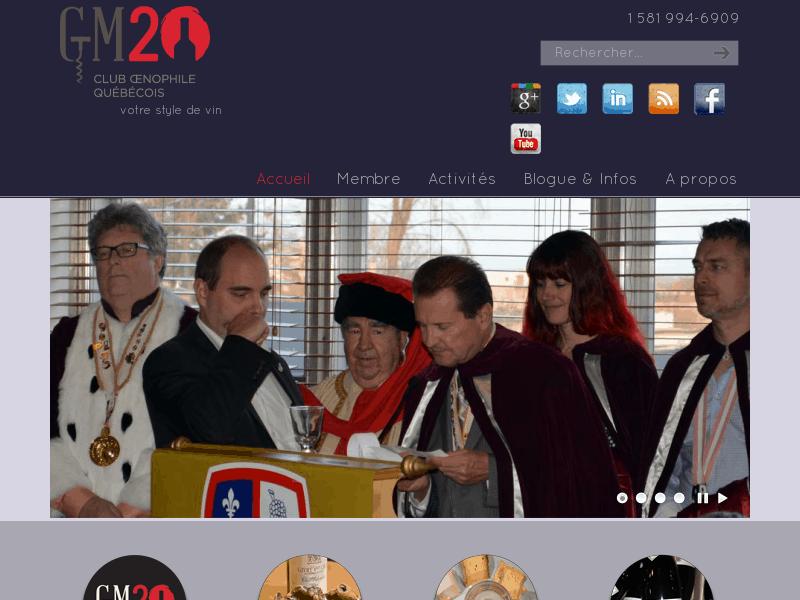 GM20 – Club Œnophile Québécois