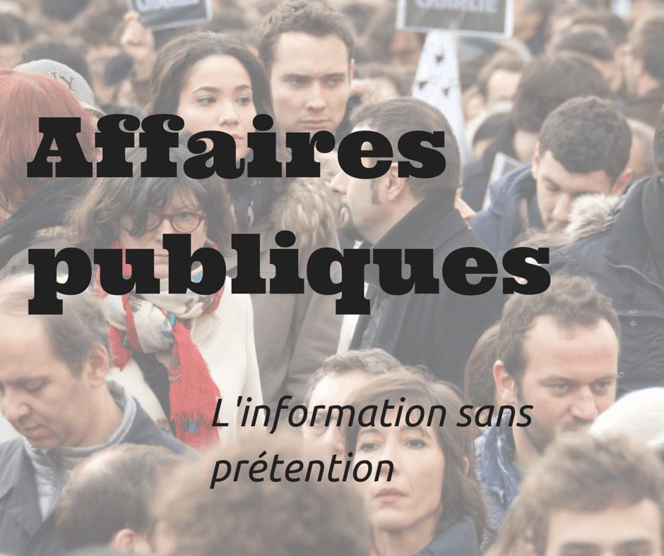 Affaires publiques | Magazine de recherche sur l'actualité