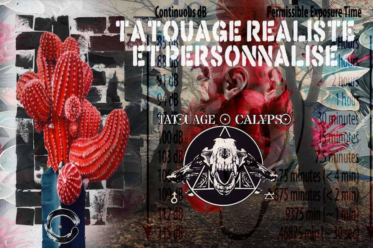 Tatouage Calypso, liens vers les sites officiels du studio de tattoo professionnel à Québec